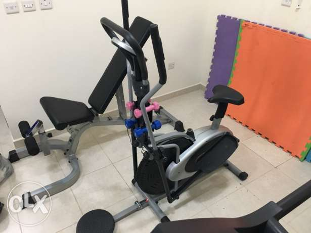 Elliptical/Cycling Machine
