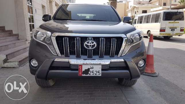 toyota Prado 2015 full option Lebanese lady driven with new istimara