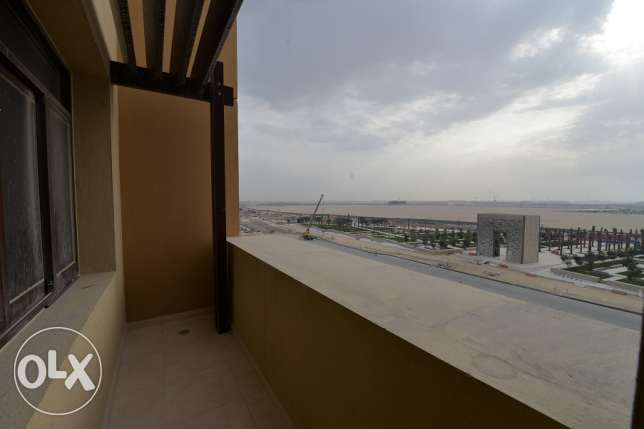 2 in-suite bedroom apartment with nice Balcony view for rent in Lusail