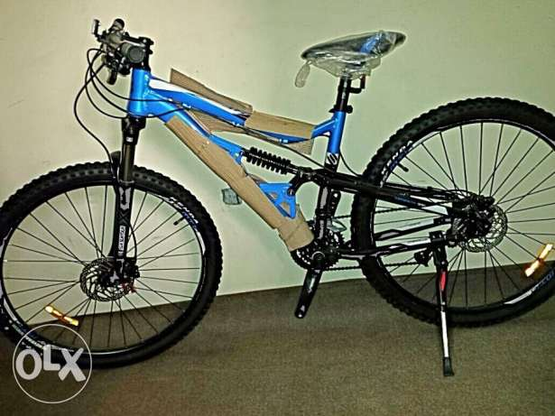 Totem Brand New 29er full suspension, 27 speed Altus مطار الدوحة -  1