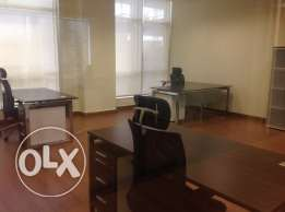 Fully furnished office space for rent at Doha