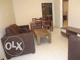 Fully-Furnished 2-Bedroom Flat in {Umm Ghwailina}