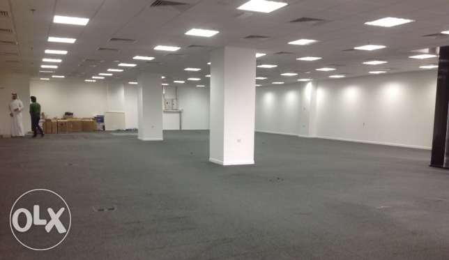 180,220,250 Sqm Brand new open office space for rent at Doha السلطة -  1
