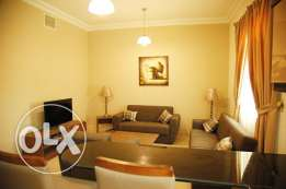 Fully Furnished 1-Bedroom Apartment At -Abdel aziz-