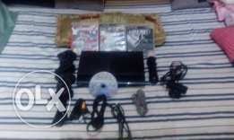 ps3 limited edition for sale -3 controllers- camera