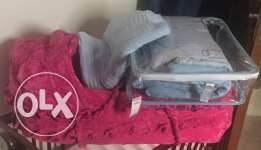 baby's bed with other items