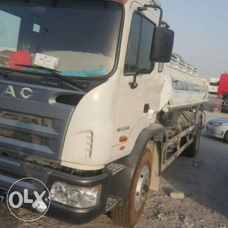 For Rent Jac Water Tanker (2016 MODEL) With Driver...sngle/Dble shift!