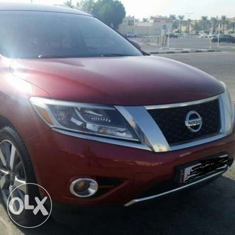 Nissan pathfinder 2013 4x4 fully loaded