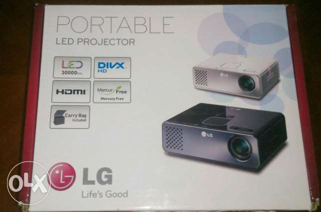 LG projector LED