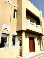 for family..u/f 6 bedroom + out house stand alone villa in wakrah
