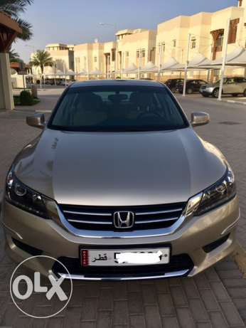 Accord LX-B 2013 Champagne Color - Excellent Condition - Low Mileage