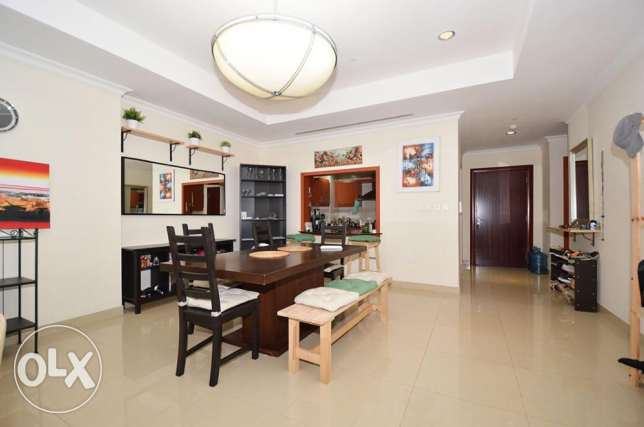 Furnished 1 Bed Home with Various Lovely Views الؤلؤة -قطر -  5