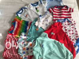 mothercare and carters baby clothes for sale
