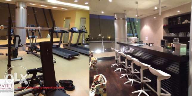 FF 2-BR Flat in Bin Mahmoud-Gym-Pool-Sauna-Spa-Jacuzzi فريج بن محمود -  2