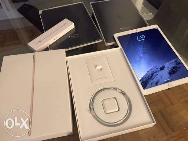 """seller iPad Pro 12.9"""" 32 GB WiFi only Gold with Box BILL"""