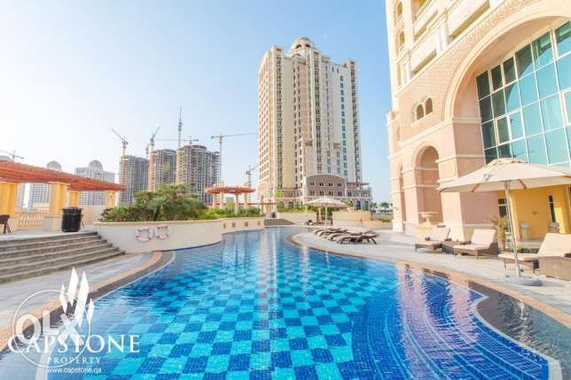 FIRST MONTH FREE, 1BR, 2BR, 3BR Apartments at The Pearl الؤلؤة -قطر -  1