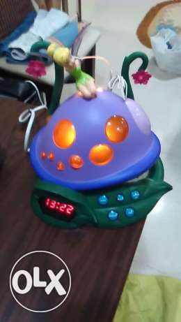 New Radio, Alarm,and Clock Lovely Mushroom Shape