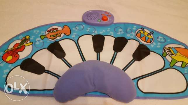 early learning center- music mat