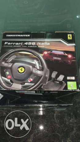 Xbox 360 steering wheel (only from 28/5 - 8/6)