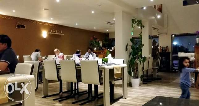 Restaurant for sale - 250 sq mt - 120 Seats - Prime location.-مطعم للب