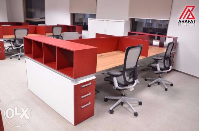 Offices with Luxury and furnished for Rent in Barwa Tower