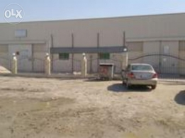 Store and Labour Camp For Rent in Industrial Area