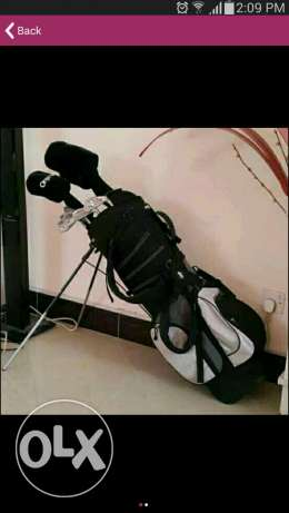 OnyX Golf with bag