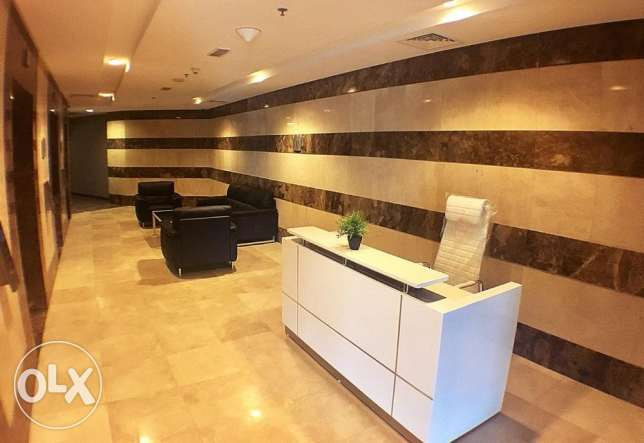 Cost Effective Furnished Office/License in FG Business Center الخليج الغربي -  1