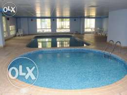 Luxury FF 1-Bedroom Apartment in Bin Mahmoud/Gym/Swimming Pool