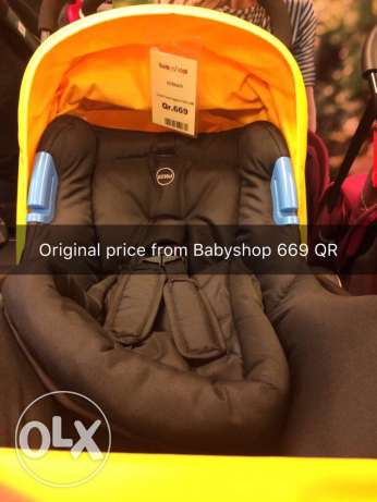 Baby Stroller Giggles with free infant car seat
