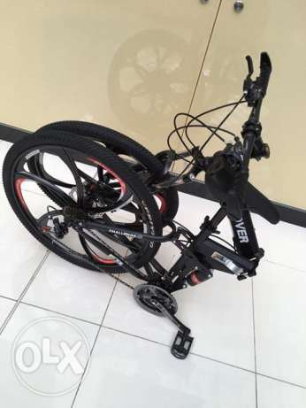 Folding bike with alloy wheel الريان -  6