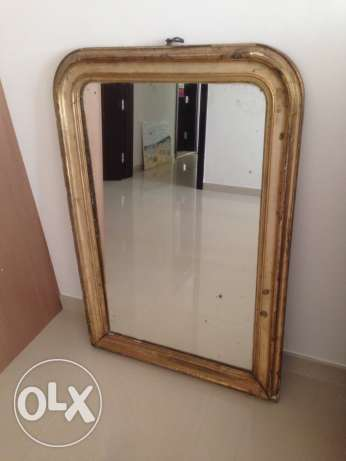 Antique Mirror from India 19th century