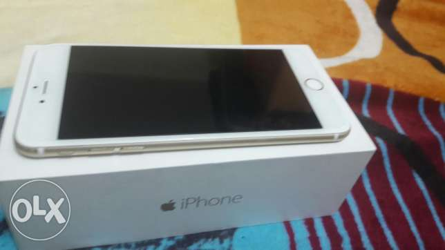IPhone 6plus 64 gb gold with box and all accessories