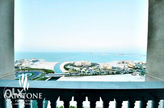 FREE First Month, 1BR with Stunning View الؤلؤة -قطر -  3