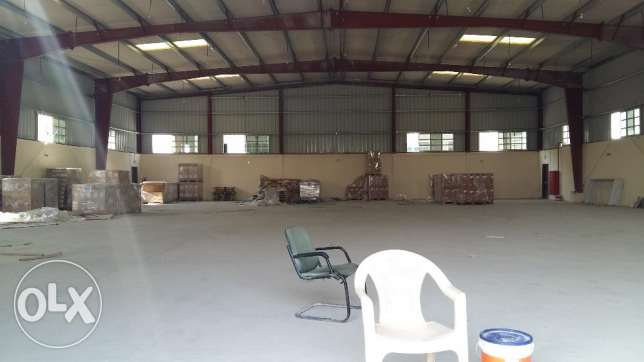 Different Warehouse for rent at Doha