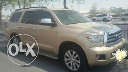 Toyota Sequoia full options model 2011, excellent condition