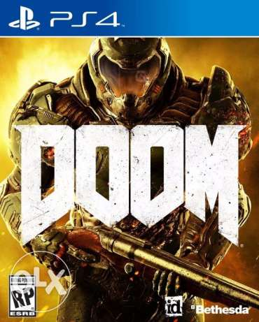DOOM PS4 video game