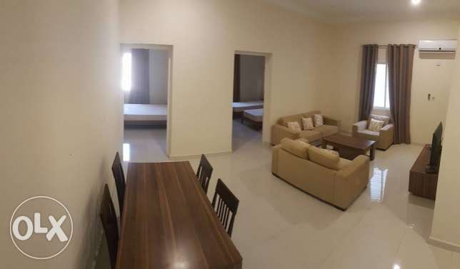 Furnished 2 bedrooms apartment in Muaither