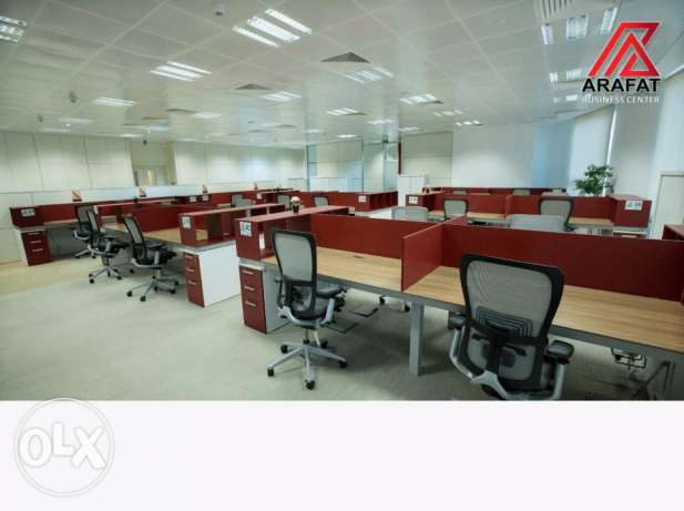 Big Office  For Rent In Barwa Tower