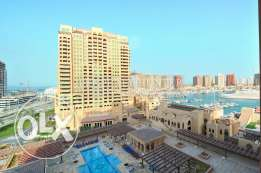 Furnished 2 Bed Home with Marina Views
