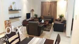 Luxury Fully Furnished 1-Bedroom Flat in AL Sadd+Gym