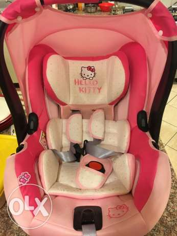 Baby car seat - Hello kitty (fairly used)