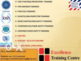 get training on all basic safety courses