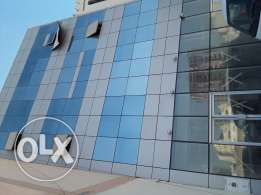 Office building with shop for rent