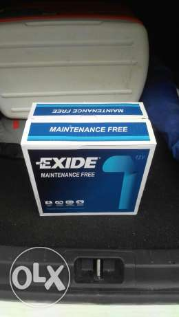 New unused Exide battery for car الوكرة -  1