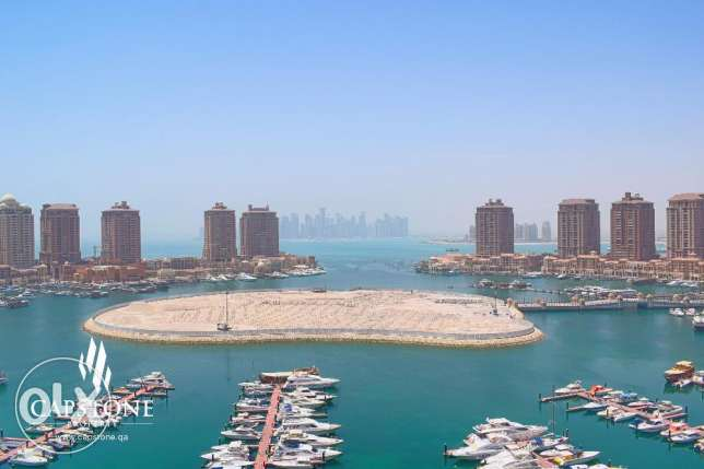 Furnished Apartment with Amazing Marina View