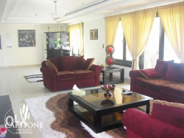 Enjoy Luxury in 2 BR + M Apt. at The Pearl FOR SALE الؤلؤة -قطر -  2