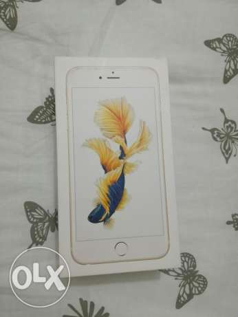 IPhone 6S plus 64gb gold color