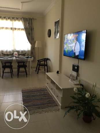 Fully furnished Room for rent to share with family in al saad السد -  2