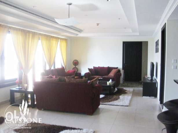 Enjoy Luxury in 2 BR + M Apt. at The Pearl FOR SALE الؤلؤة -قطر -  1